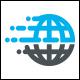 Fast Globe Logo Template