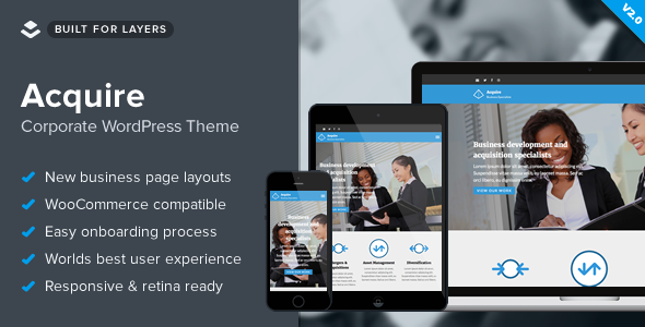 Image of Acquire - WordPress Law Theme
