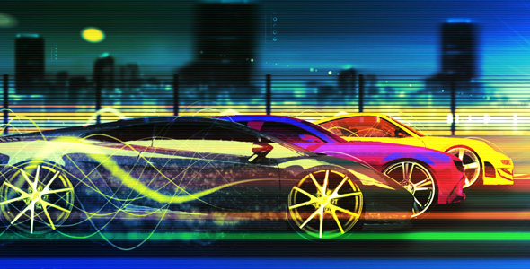 After Effects Project - VideoHive Race Machine 165047