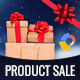 GWD - Christmas | Product Sale Banner - 7 Sizes