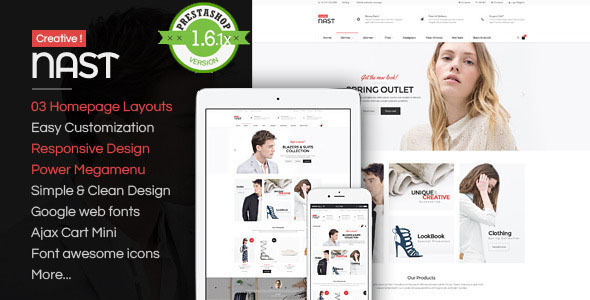 NastCreative - Multipurpose Responsive PrestaShop