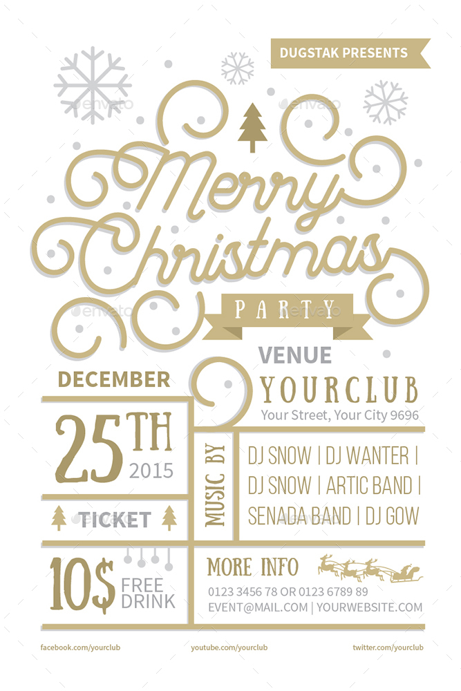 Christmas Event Invitation by oldandnew – Event Invitation