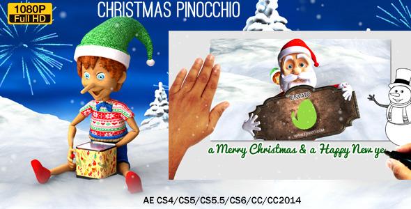 Christmas Pinocchio