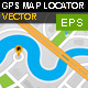 GPS Map Location Markers - GraphicRiver Item for Sale