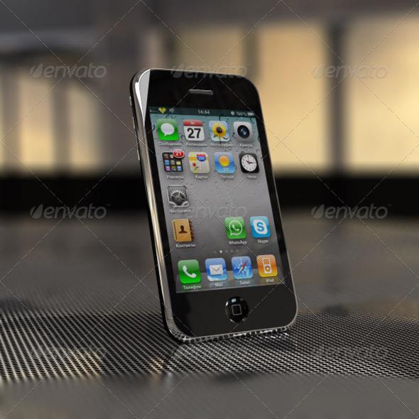 3DOcean iPhone 3GS 165099