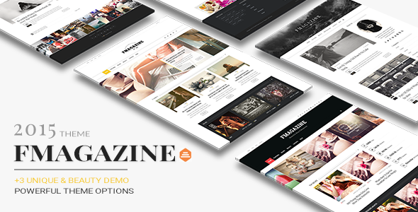 preview.  large preview - F - Magazine Drupal Theme