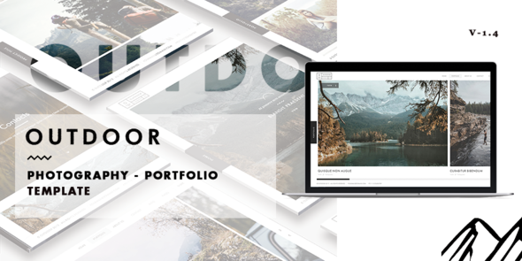 22. Outdoor - Photography / Portfolio Template