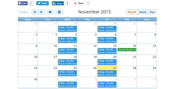 CalendARI - Joomla! events manager - CodeCanyon Item for Sale