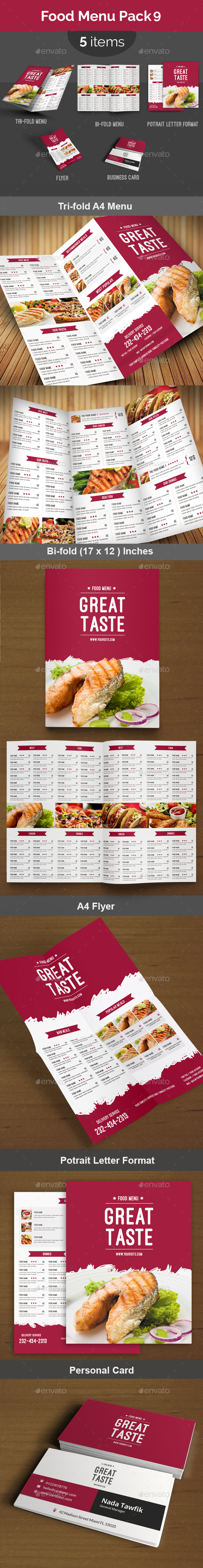 Food Menu Pack 9
