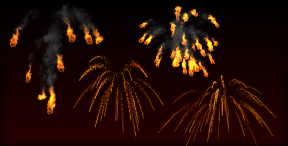 Fire Trails and Sparks PACK