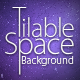 Tilable Space Background + Wallpapers - GraphicRiver Item for Sale