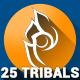25 unique Tribal Vectors