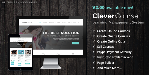 Download Clever Course - Learning Management System Theme nulled download