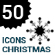 Vector snowflakes Icons