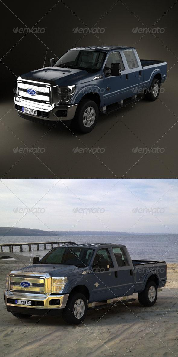 3DOcean Ford Super Duty CrewCab 2011 165279