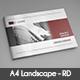 Annual Report A4 Landscape