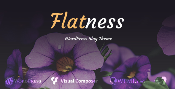 Flatness - Personal Wordpress Blog Theme