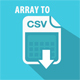 Array To CSV Converter Class