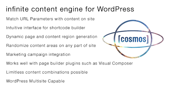 [ cosmos ] infinite content engine for WordPress