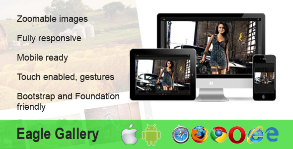 Eagle Gallery – responsive, touch, zoom, gallery (Images and Media) images