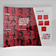 Observed Corporate Trifold Brochure Template