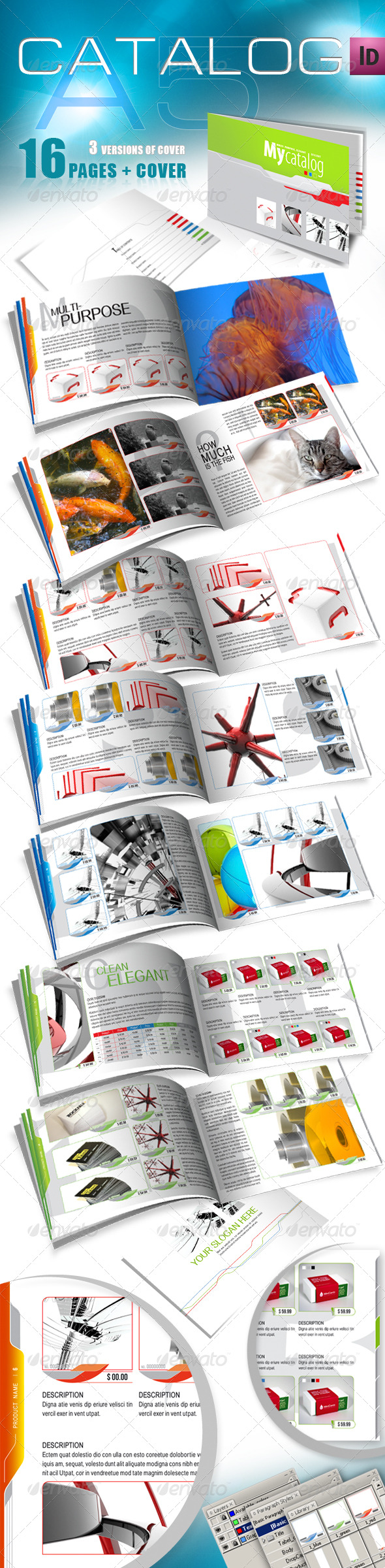 GraphicRiver A5 Catalog for Multiple Purposes 165372