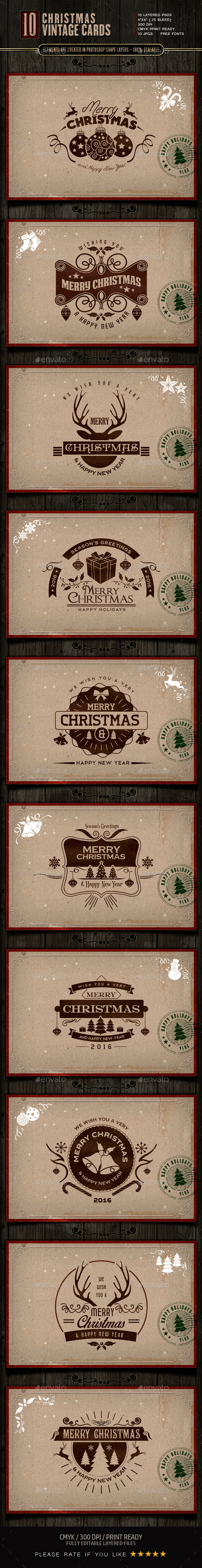 Retro / Vintage Christmas Cards