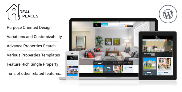 25 - Real Places - Responsive WordPress Real Estate Theme