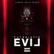 Futuristic Evil | Mixtape Album CD Cover Template