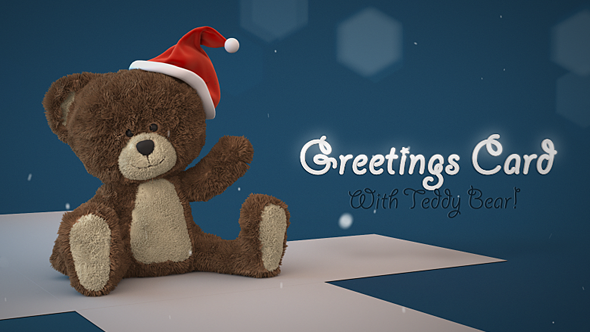 Download Christmas Teddy Bear Greetings nulled download