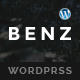 Benz - Creative Multiuse WordPress Theme - ThemeForest Item for Sale