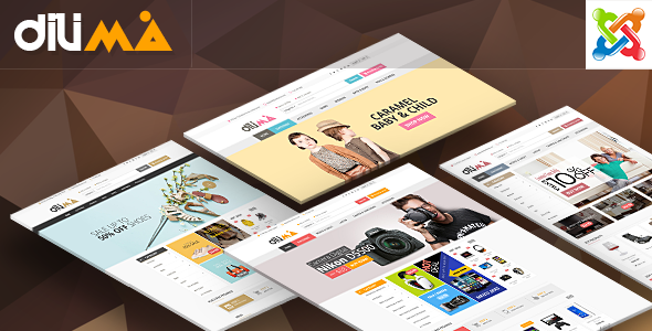 Vina Dilima - Multipurpose VirtueMart Template