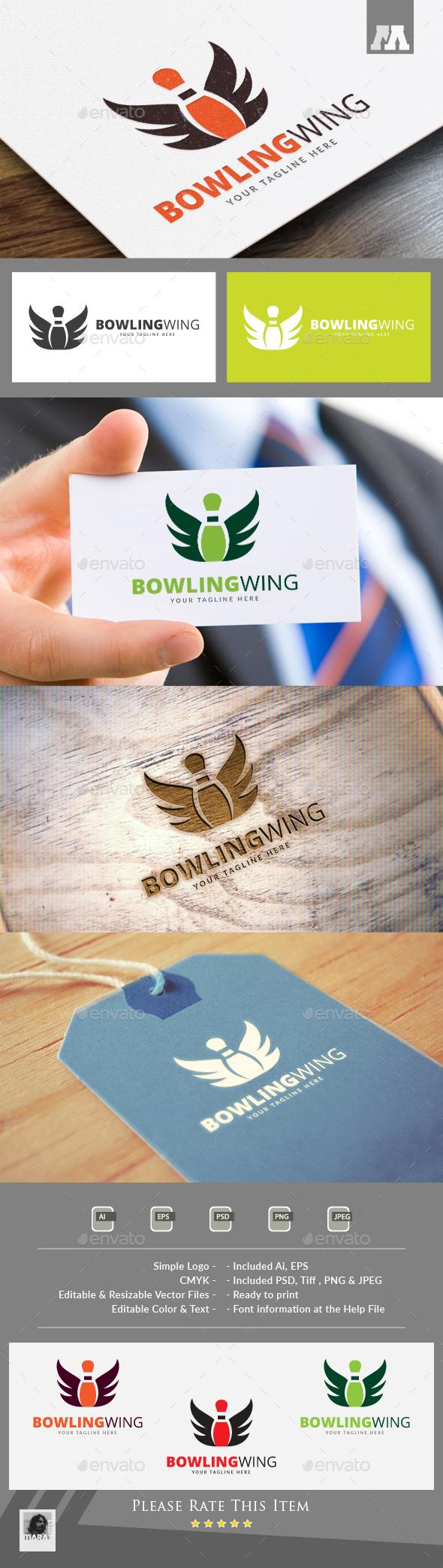 Bowling Wing Logo