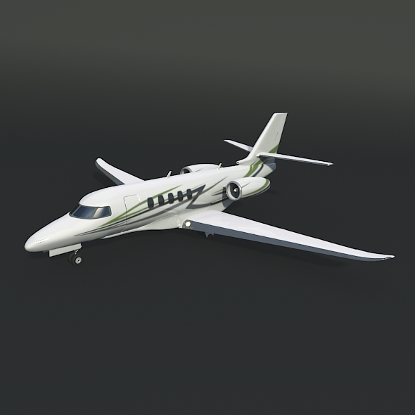 Cessna Citation Latitude private jet - 3DOcean Item for Sale