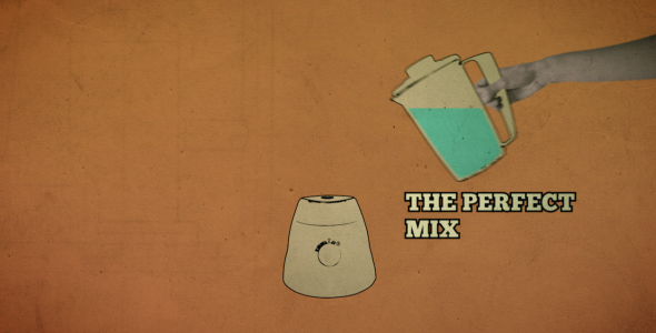 After Effects Project - VideoHive The Perfect Mix Logo Reveal 165402
