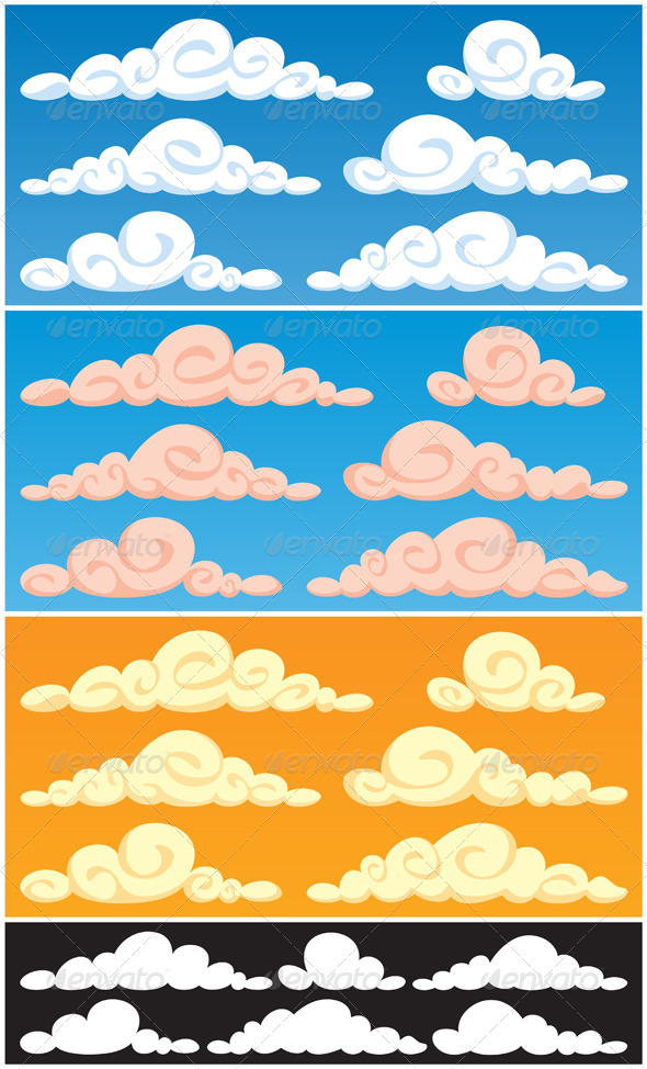 GraphicRiver Clouds 92826