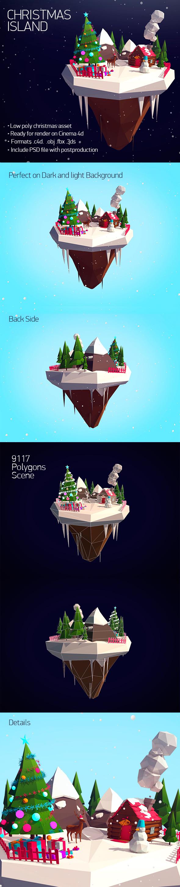 Christmas Island - 3DOcean Item for Sale