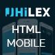 Jhilex - Mobile & App HTML Template - ThemeForest Item for Sale