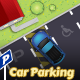 2D Car Parking Game Tile