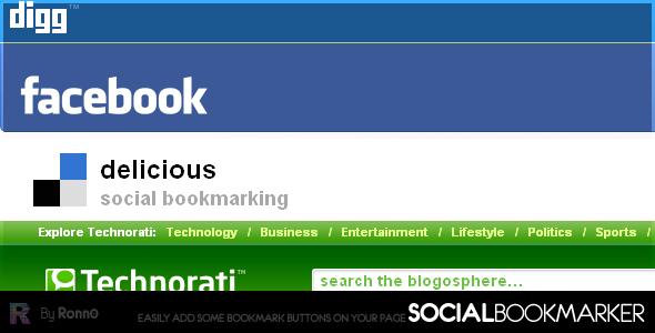 CodeCanyon SocialBookmarker PHP Script 55089