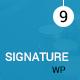 Signature - WordPress Responsive Event Landing Page