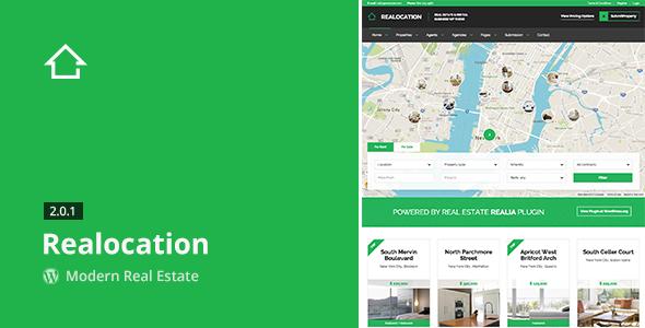 Realocation - Modern Real Estate WordPress Theme