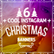 6 Cool Instagram Christmas Banners