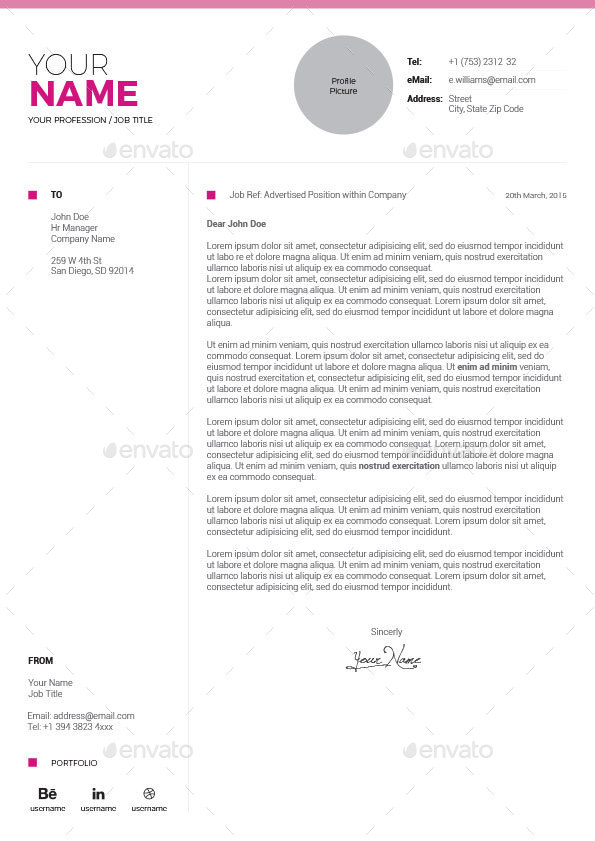 Graphicriver Resume Word Vol  Share