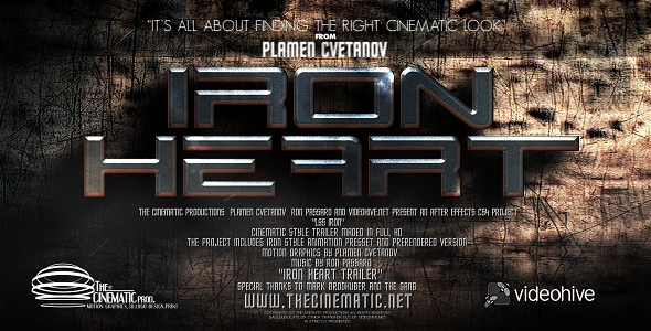 After Effects Project - VideoHive LS Series Iron Trailer 165050