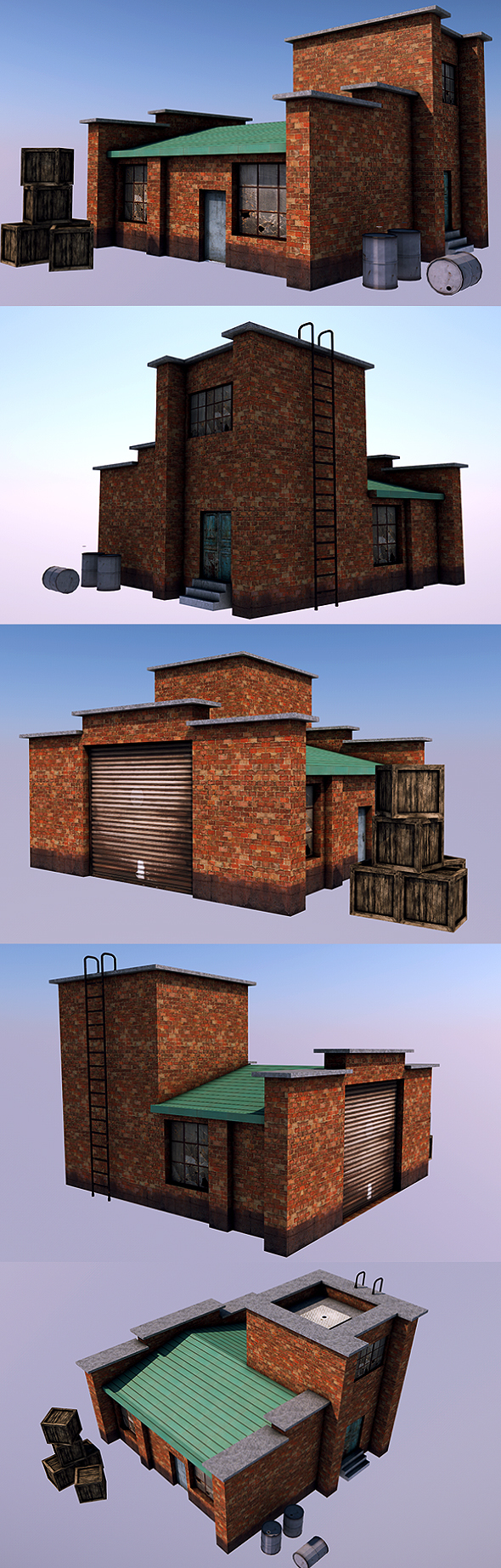 Low Poly Factory 2 - 3DOcean Item for Sale