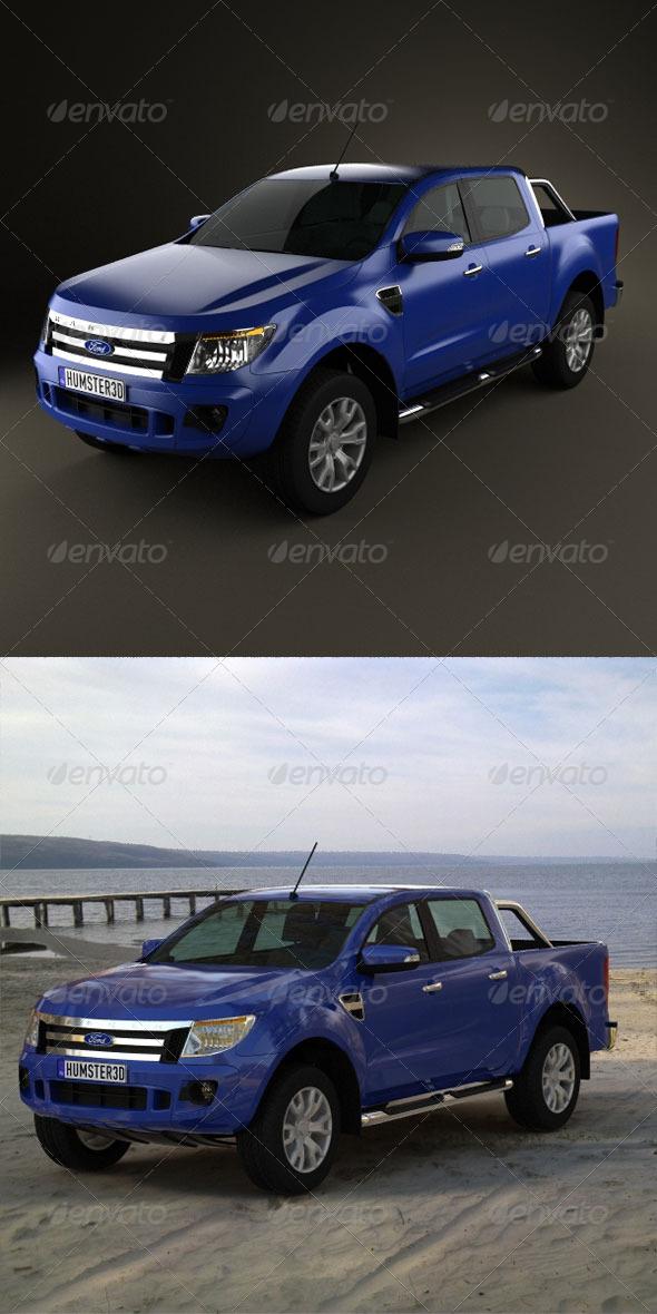 3DOcean Ford Ranger 2011 165459
