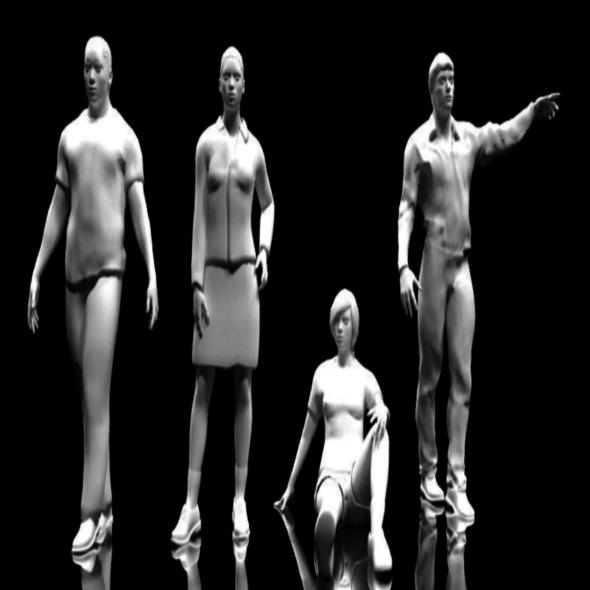 People - 3DOcean Item for Sale