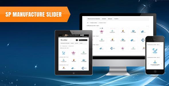 SP Manufacture Slider -  Prestashop Module