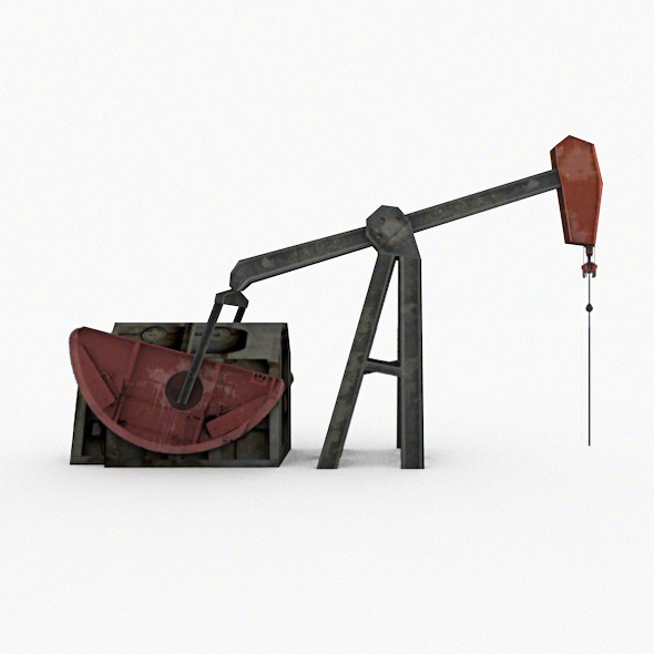 Oil Pump (Pumpjack) - 3DOcean Item for Sale